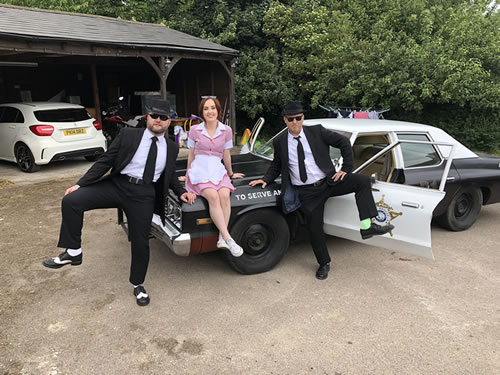 phoebe lloyd blues brothers show